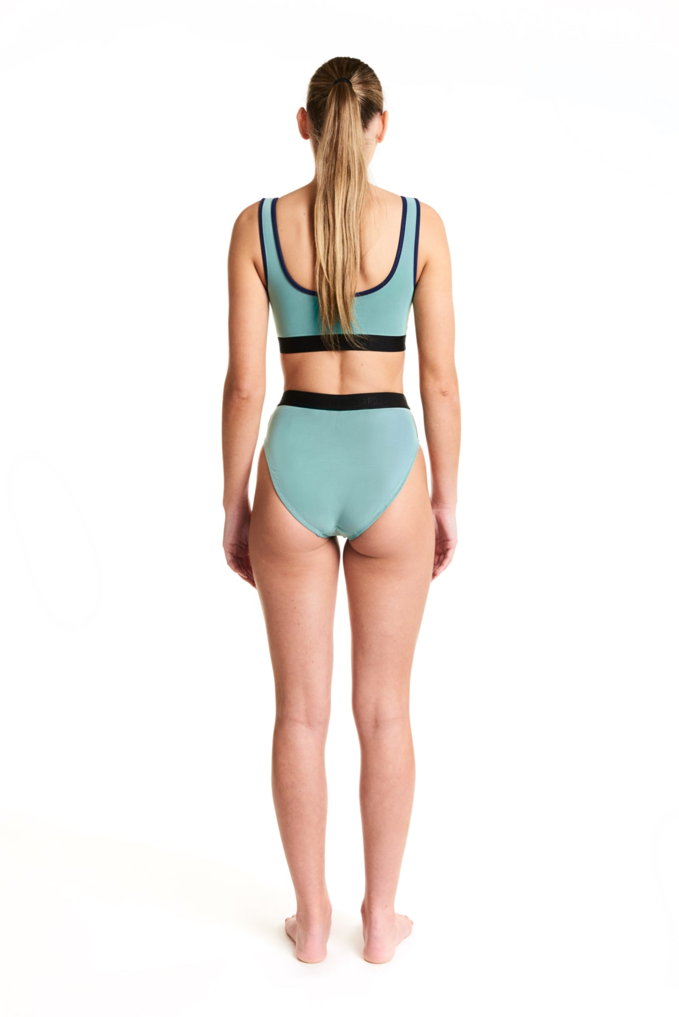 MESH OVERLAY KIM BOTTOM - MINT