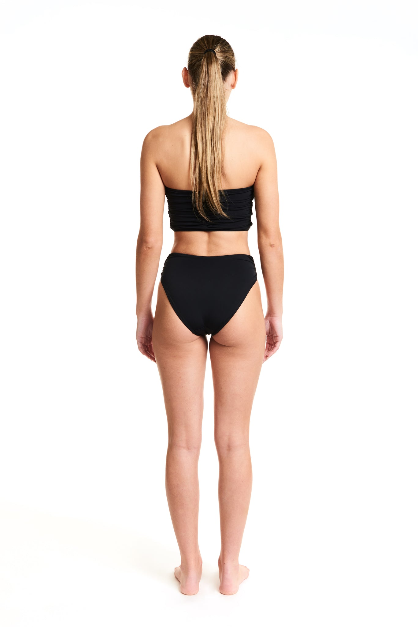 SOLID DELREY BOTTOM - BLACK
