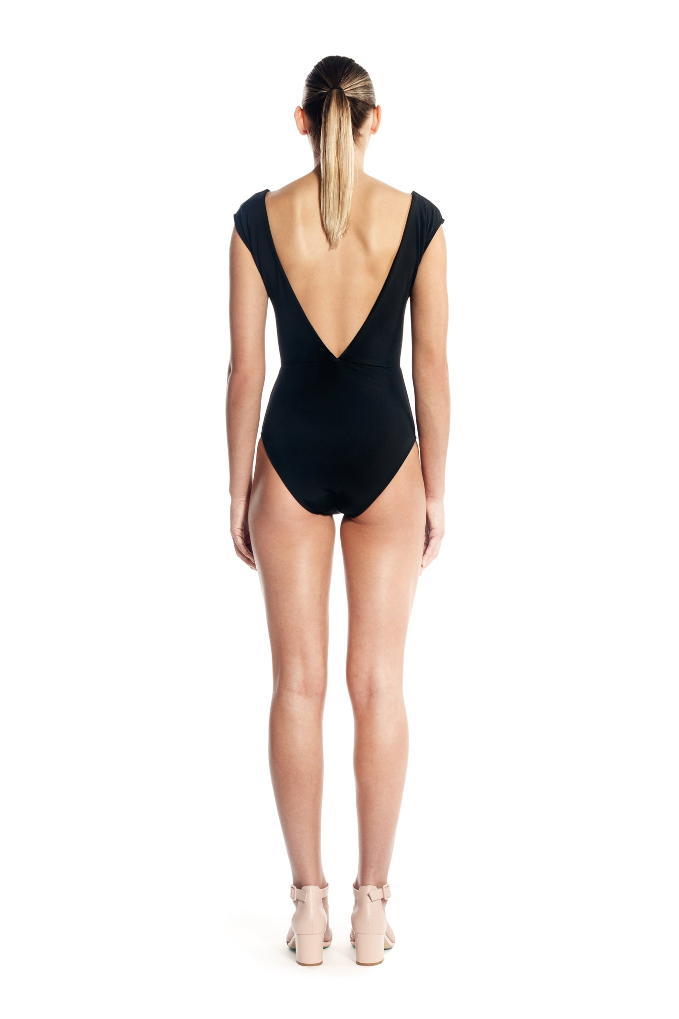 TWIST ONE PIECE - BLACK