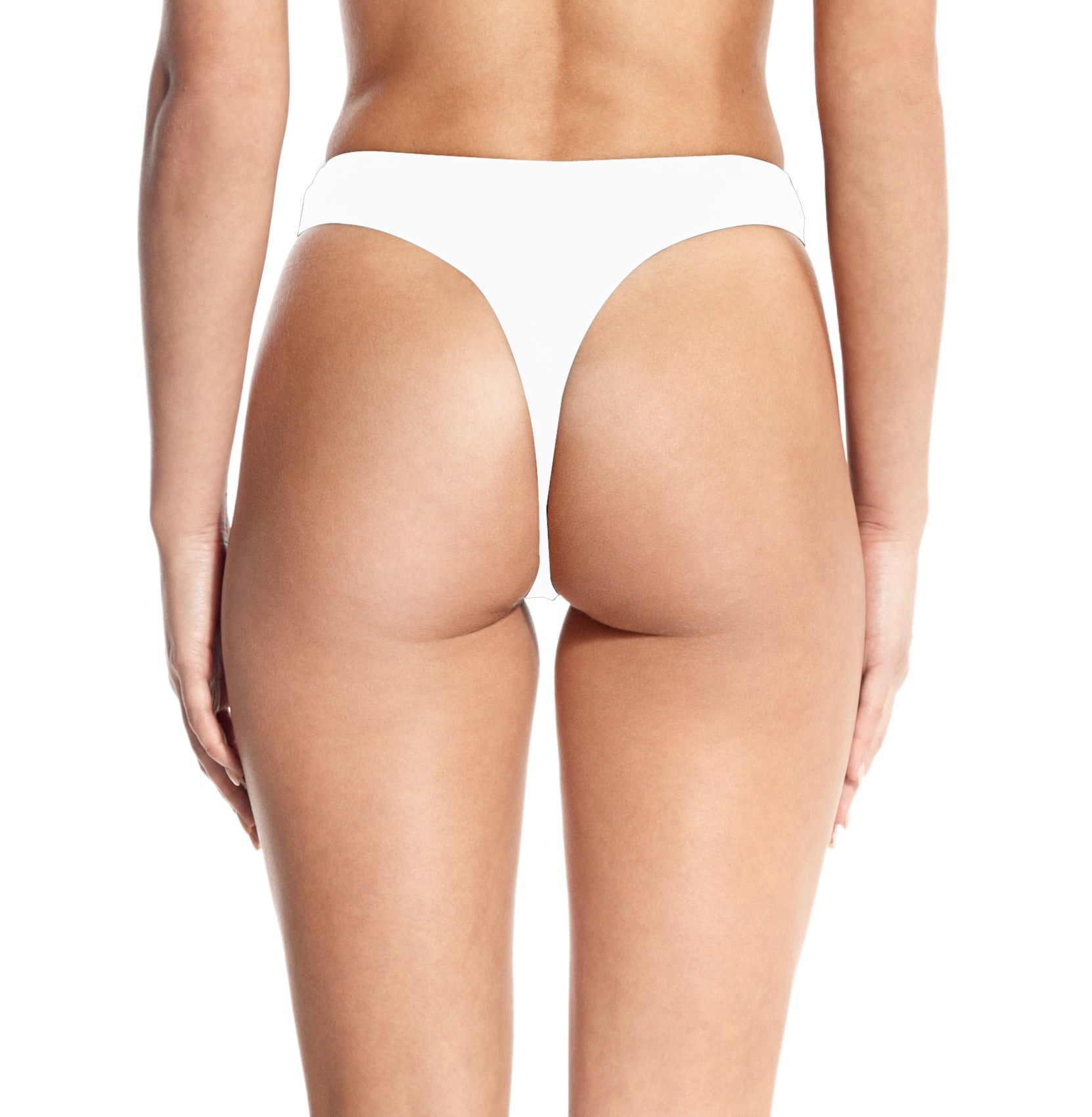 THONG BOTTOM-WHITE