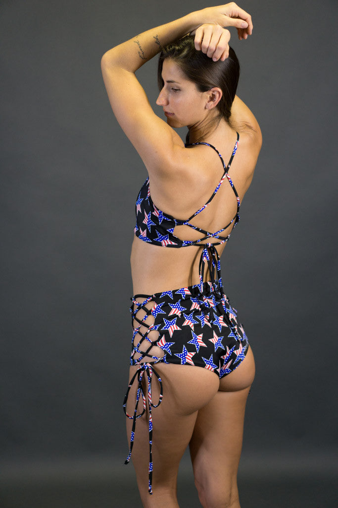 Pin Up Bottoms (Stars and Stripes)