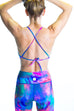 Custom High Neck Halter Top (Reversible)