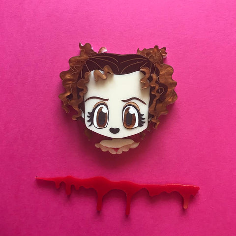 Mrs Lovett Brooch