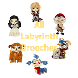 All Labyrinth Brooches