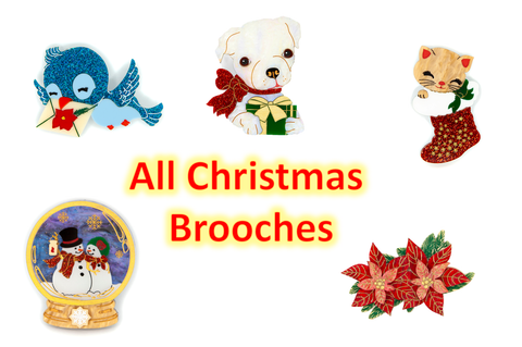 Christmas 2020 Brooches