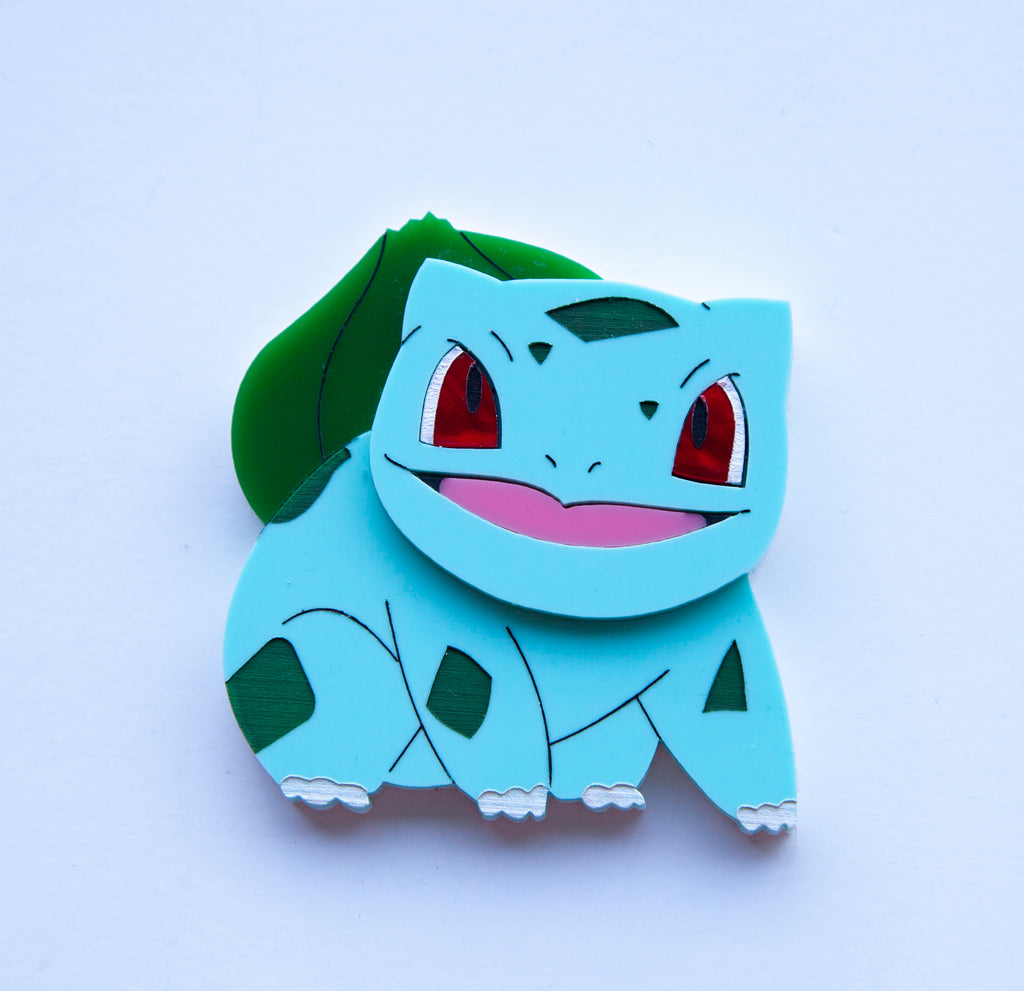 Bulbasaur Brooch