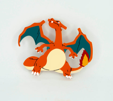 Charizard Brooch