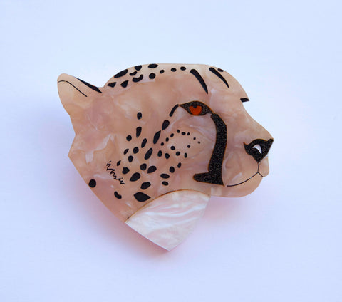 Chelsea Cheetah Brooch