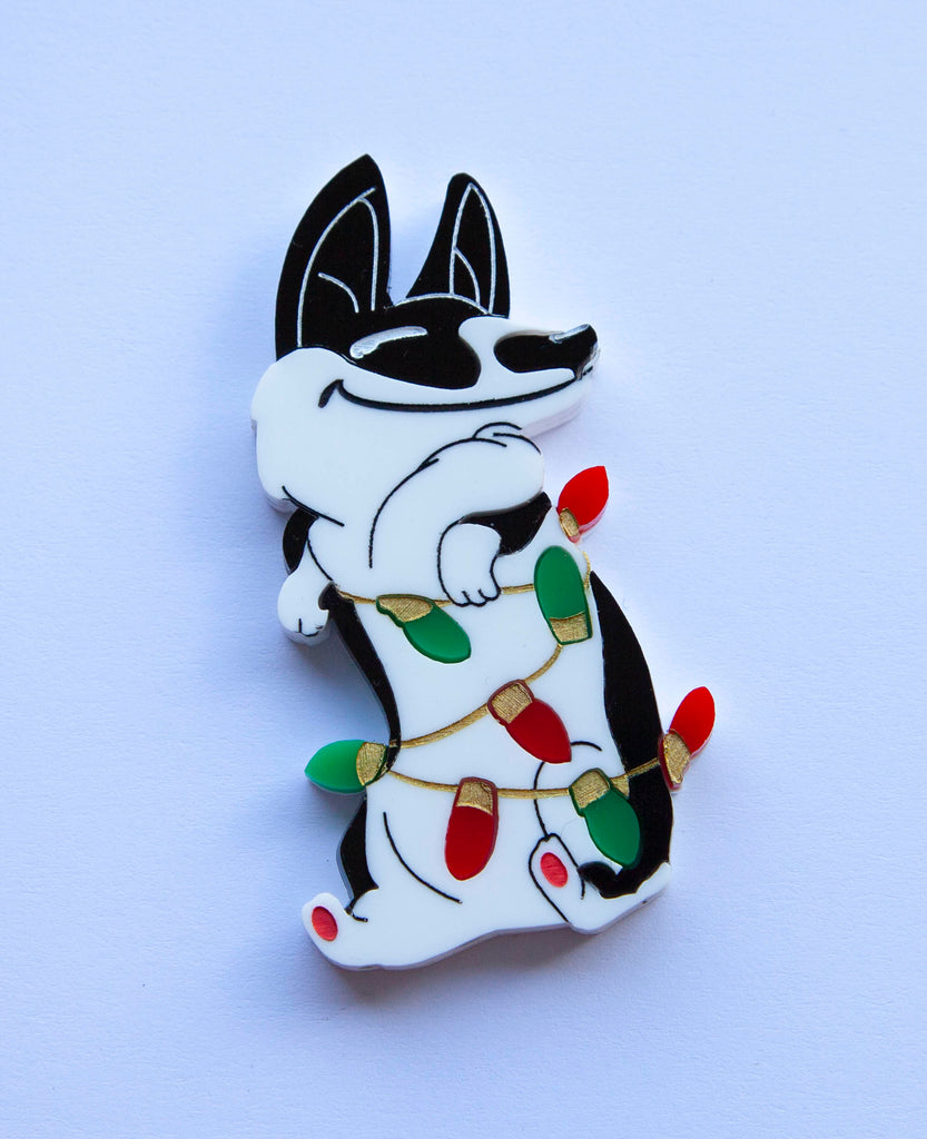 Christmas Charlie Brooch