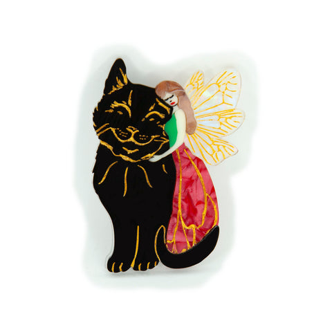Shadow and Dianna Brooch