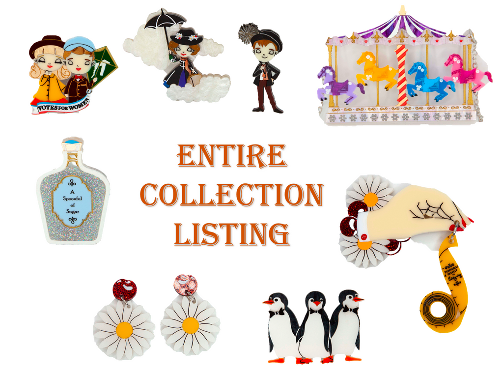 Entire Mary Poppins Collection