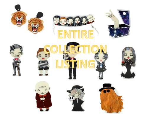 Entire Addams Family Collection