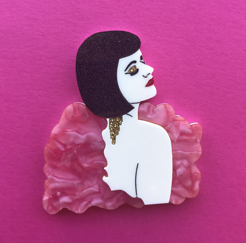 Lady Eva Brooch