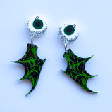 Eyeball Bat Dangles