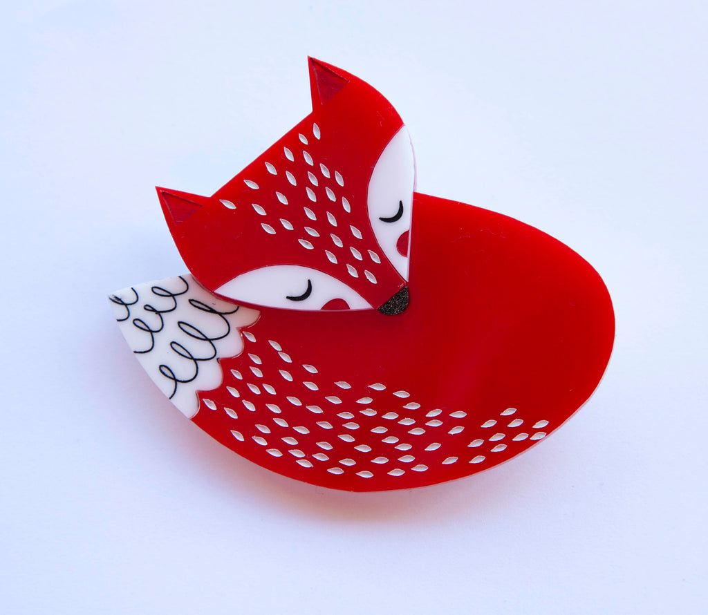 Felicity Fox Brooch