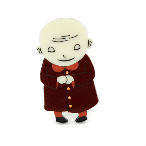 Uncle Fester Brooch