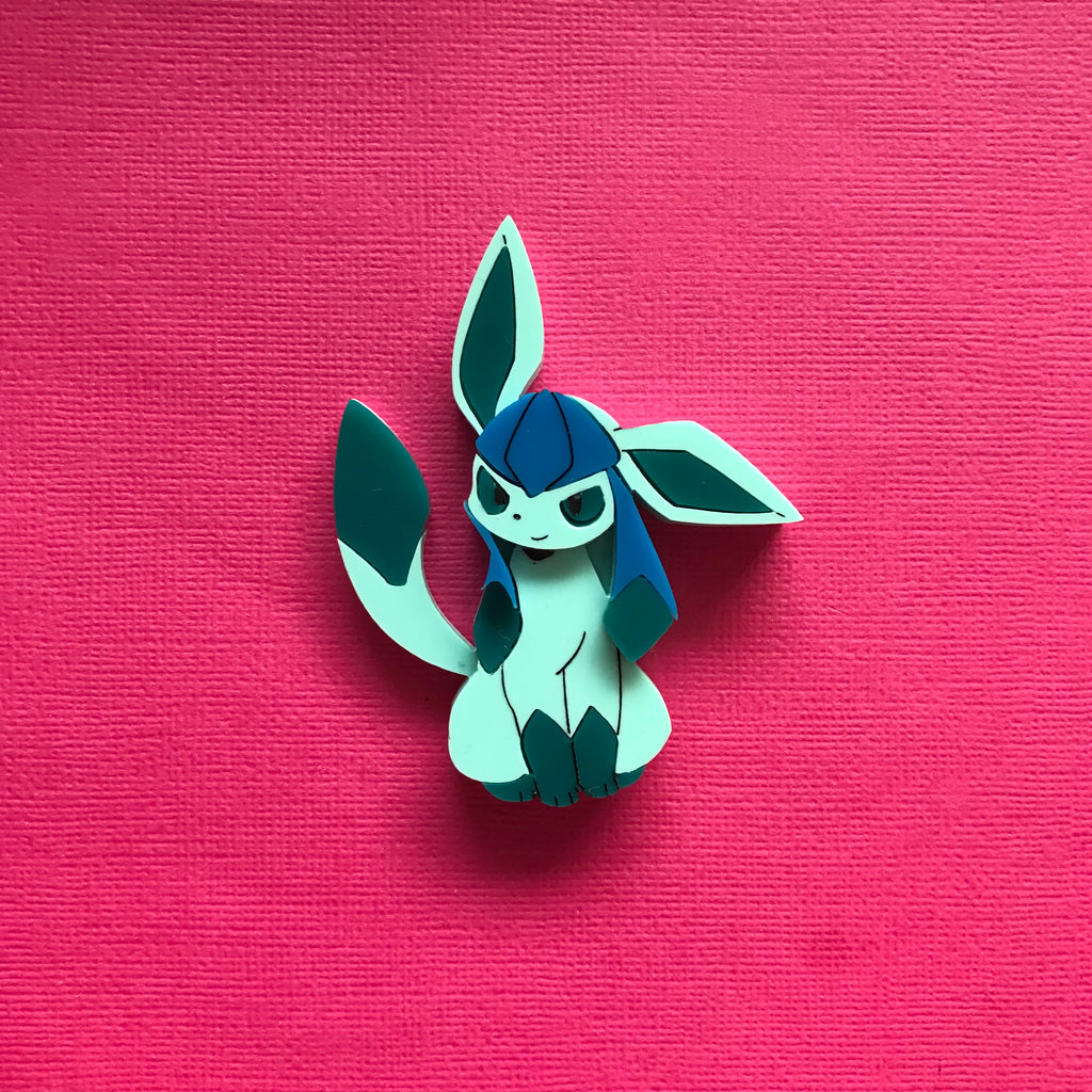 Glaceon Brooch
