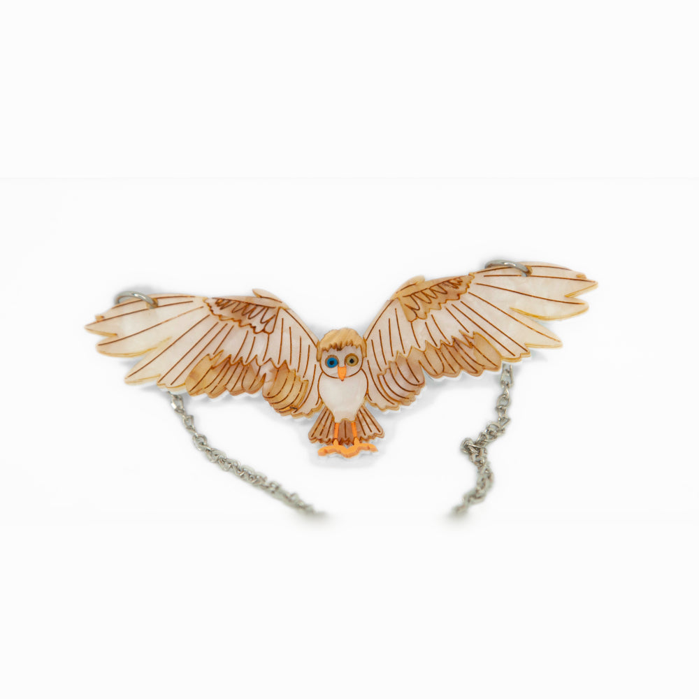 Goblin King Owl Necklace