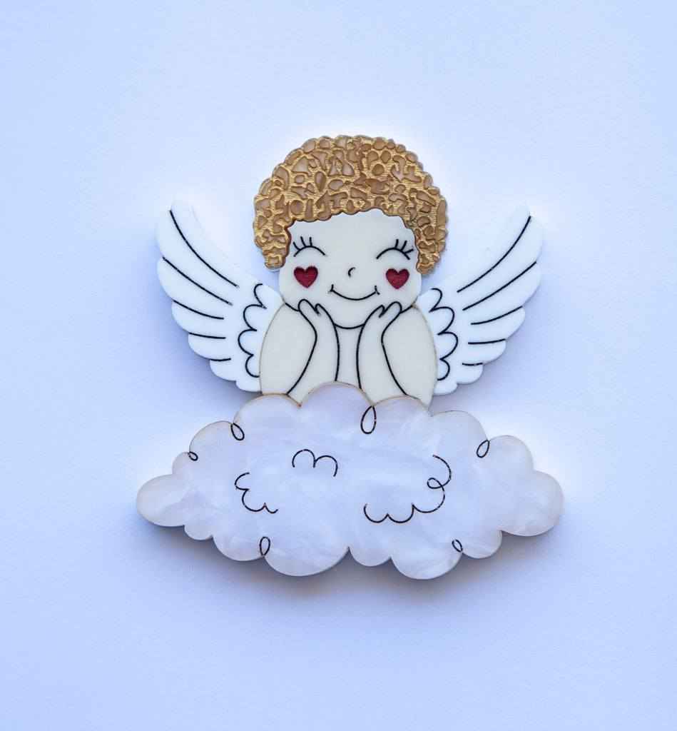 Hello Cupid Brooch