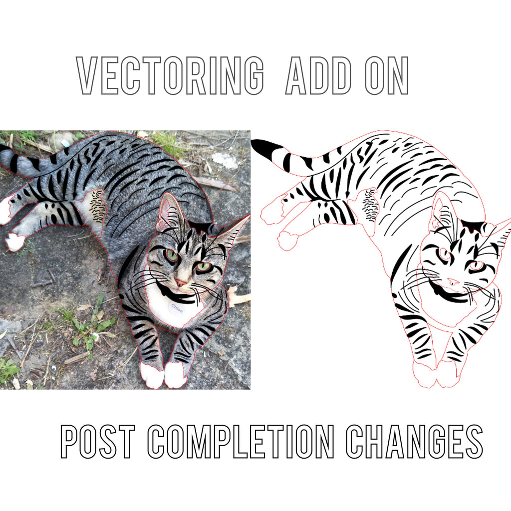 Vectoring Add ons: post completion changes