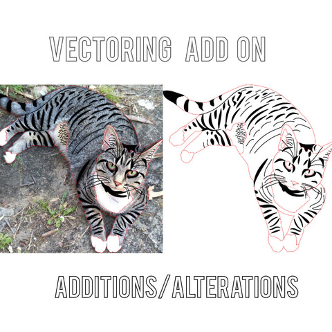 Vectoring add on: Additions/Alterations