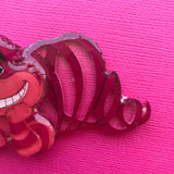 Cheshire Cat Brooch 1
