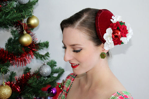 Christmas Bauble Bundle Fascinator