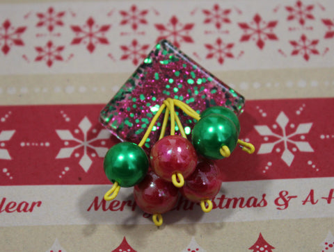 Christmas Cheer Brooch