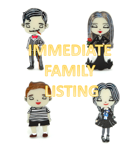 Immediate Addams Family Listing
