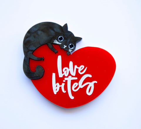 Love Bites Brooch