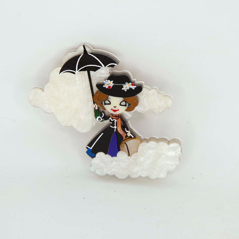 Mary Poppins Brooch