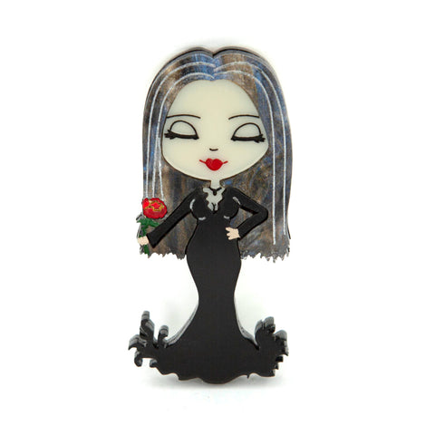 Morticia Brooch