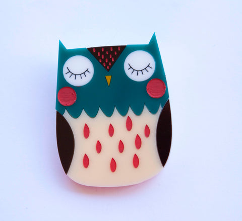 Otis Owl Brooch
