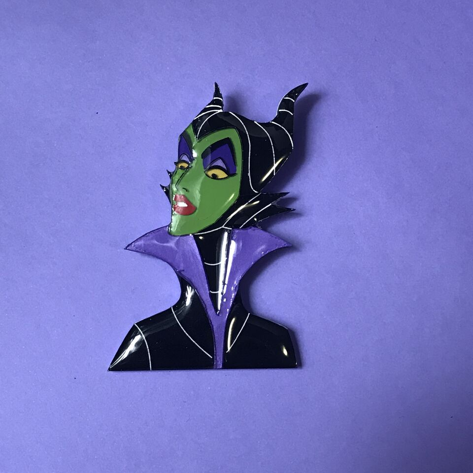 Maleficent Brooch