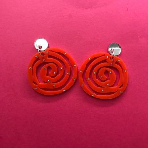 Jalebi baby ~ Dessert Earrings