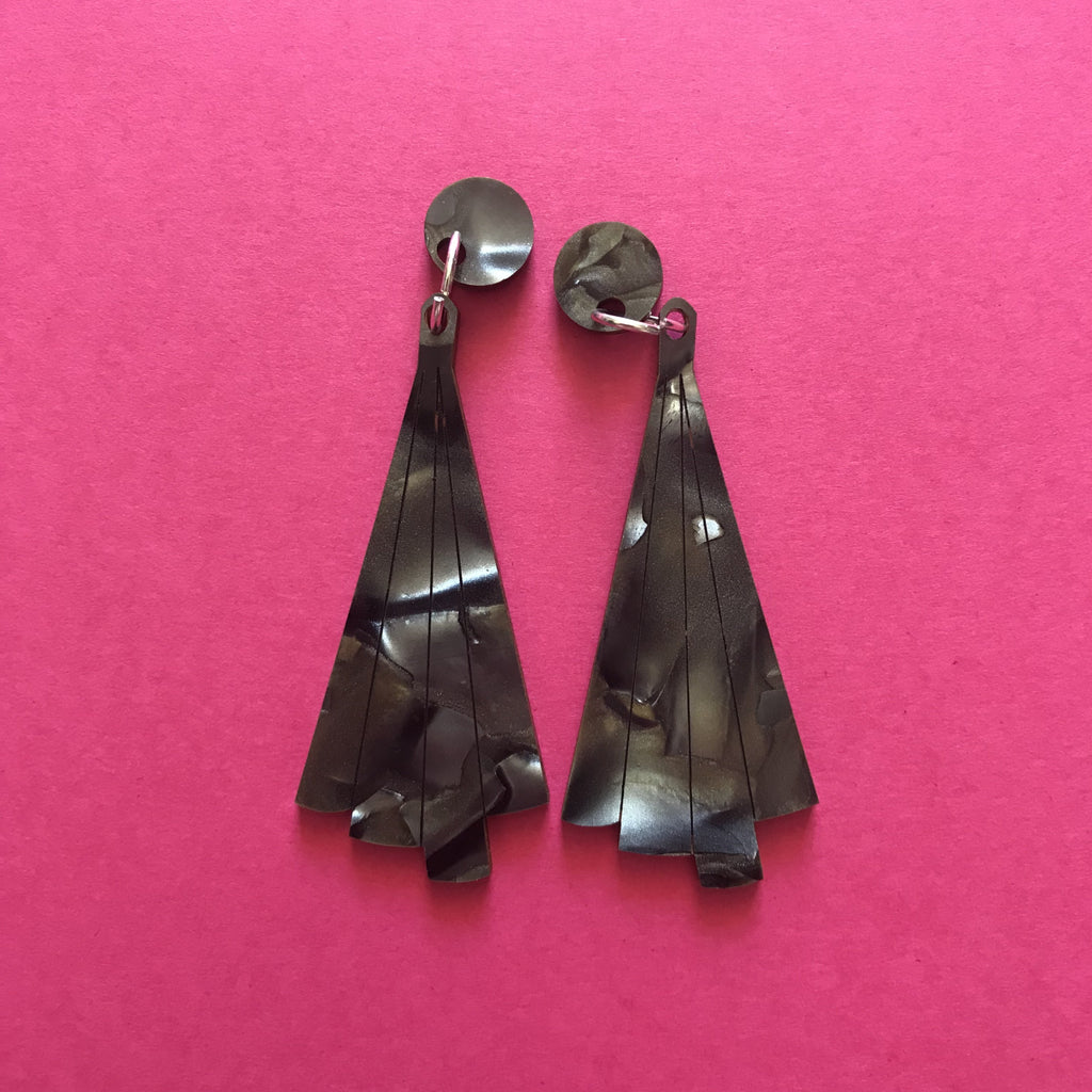 Art Deco Dangles ~ Original precut
