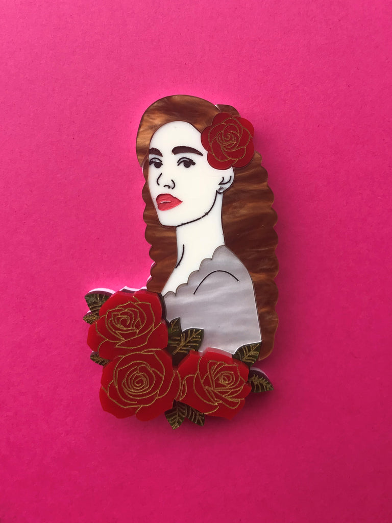 Christine Daae Brooch