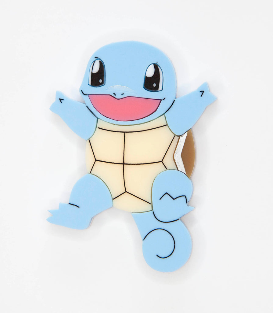 Squirtle Brooch