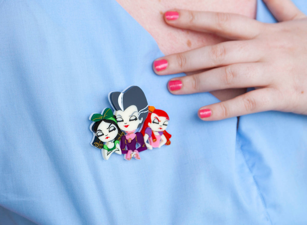 Step Family Brooch