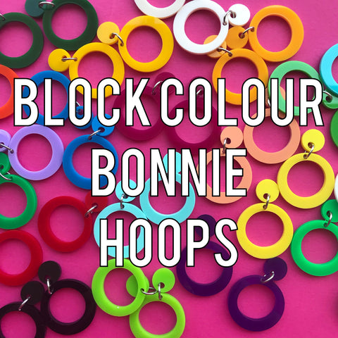 Bonnie Hoops ~ Matte Colours