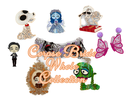 Corpse Bride Whole Collection