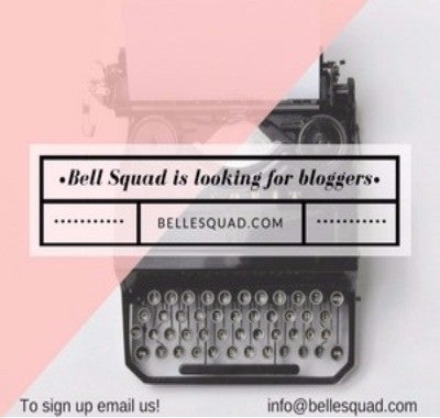 Guest Bloggers Needed – Belle Squad