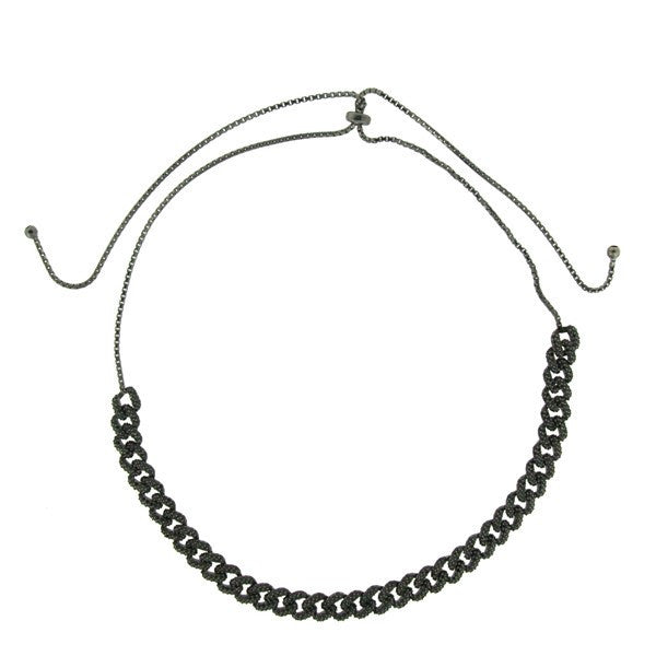 Black Copula Necklace
