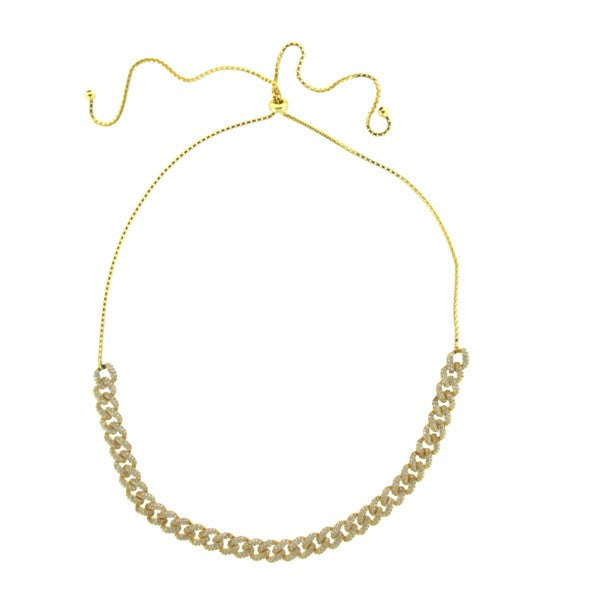 Gold Copula Necklace