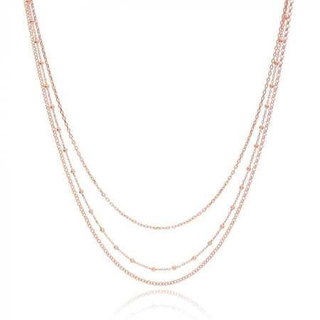 Pink Copula Necklace