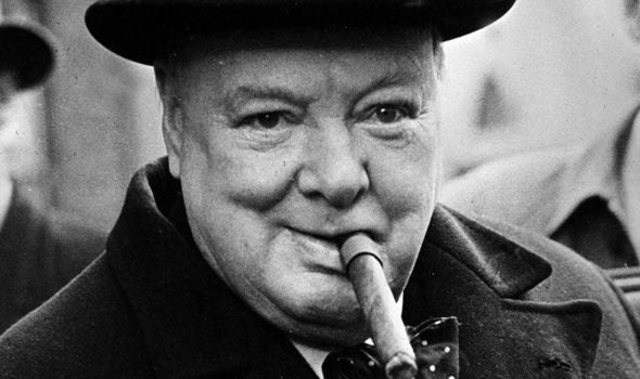 Winston Churchill's Everyday Carry Items Pocket Dump