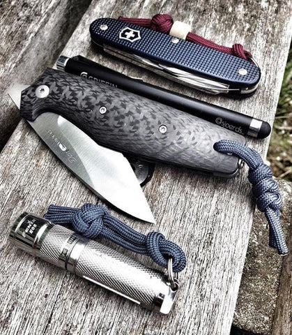 EDC Showcase Knife and Flashlight