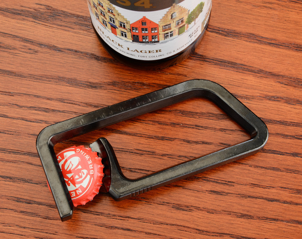Beer Opener With Magnets on Wood