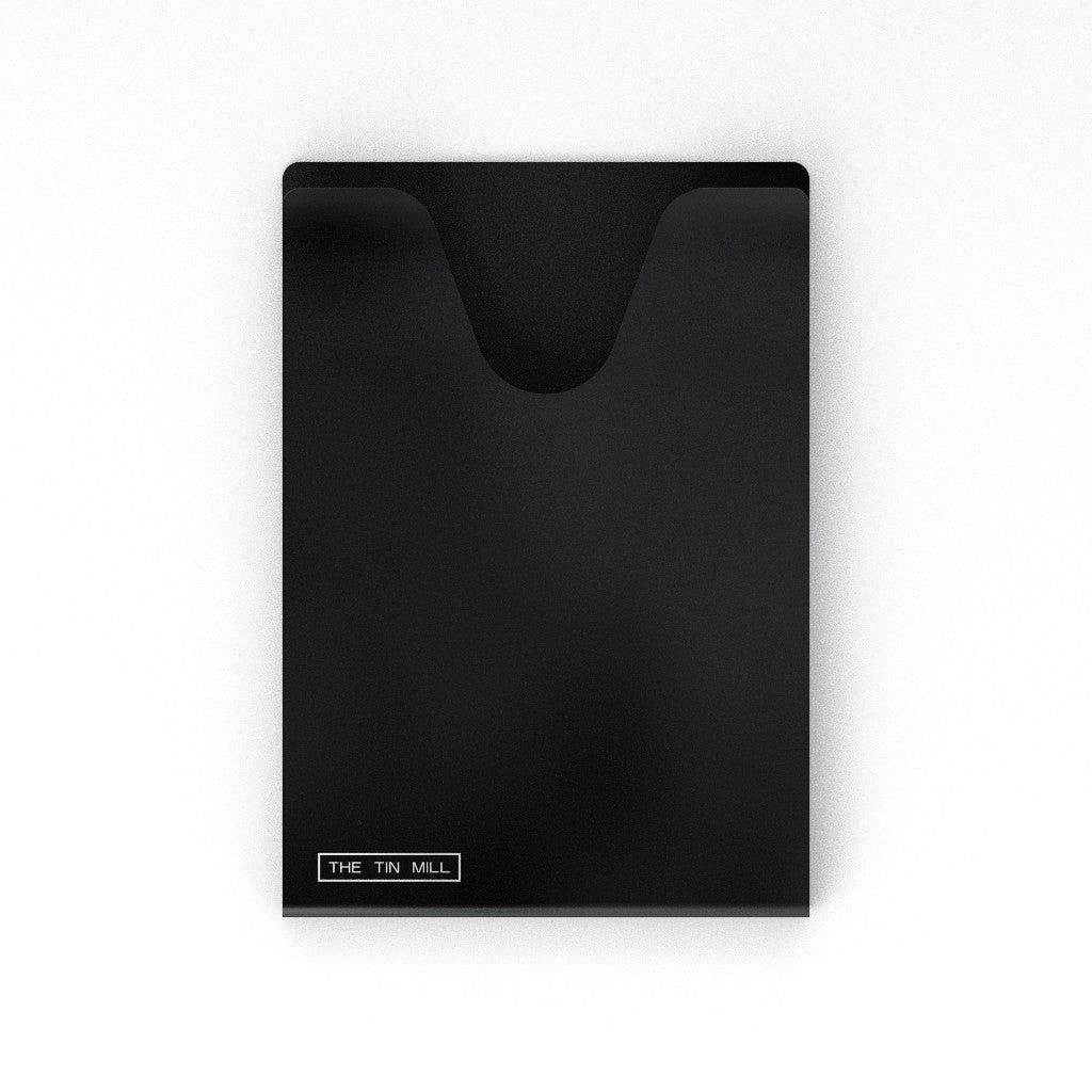 Travel Case for Black Aluminum Passport Holder