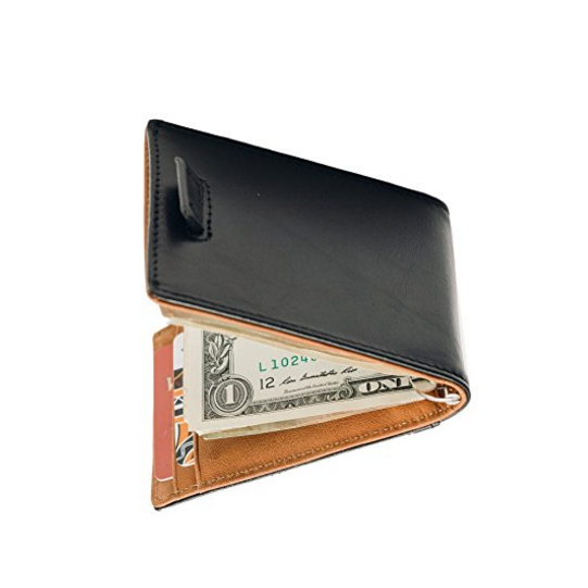 Everyday Carry Wallet with money clip